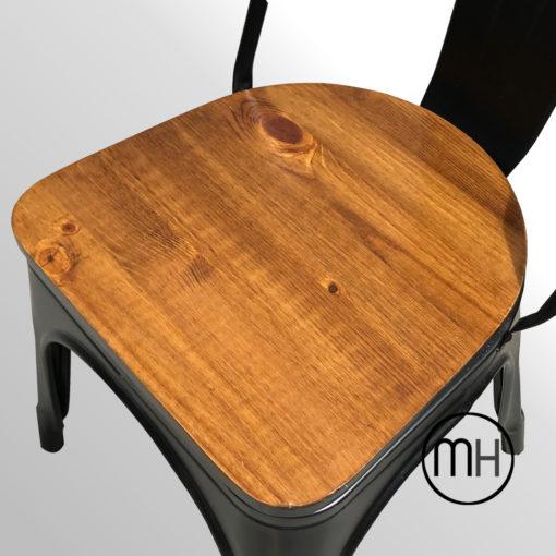 Detalle de la madera